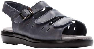 Propet Breeze Womens Walker Leather Sandals