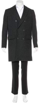 Jack Spade Double-Breasted Wool Coat