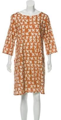 Samuji Print Shift Dress