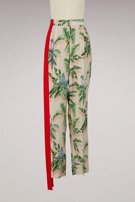 Stella McCartney Halle silk trousers