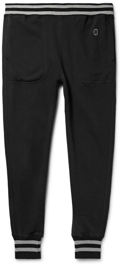 Tapered Loopback Cotton-Jersey Sweatpants