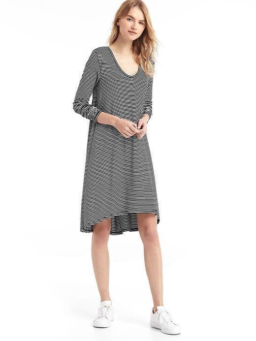 GapLong sleeve swing dress