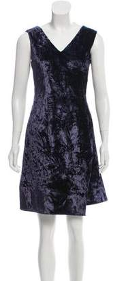 Reed Krakoff Velvet Sleeveless Dress