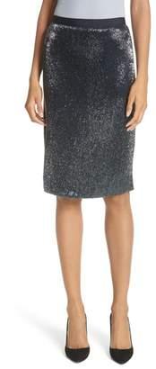 Joie Edryce Beaded Pencil Skirt