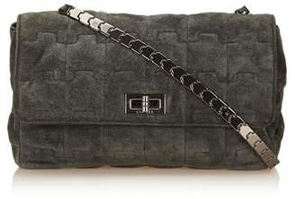 Chanel Vintage Leather Puzzle Bag