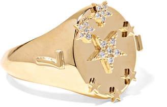 Foundrae - Star 18-karat Gold Diamond Ring