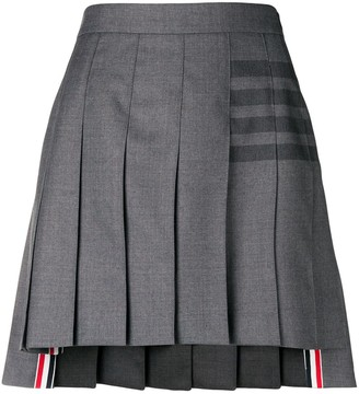 Thom Browne 4-Bar pleated mini skirt