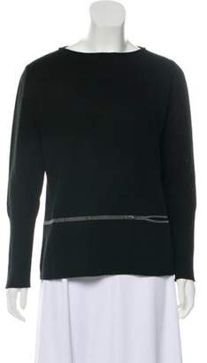 Fabiana Filippi Merino Wool Knit Sweater w/ Tags Black Merino Wool Knit Sweater w/ Tags