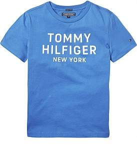 Tommy Hilfiger Essential Big Logo S/S Tee (Boys 8-14 Years)