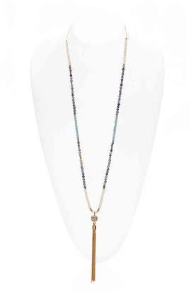 Kelly & Katie Fireball Tassel Necklace - Women's