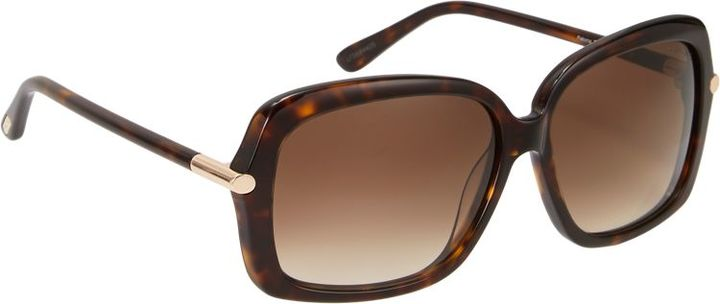 Tom Ford Women's Paloma Sunglasses-Colorless