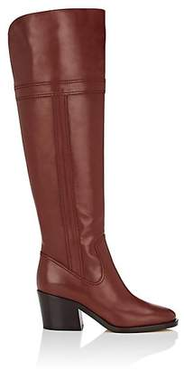 Derek Lam Women's Talah Leather Knee Boots - Dark Brown