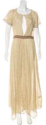 Kristina Ti Linen Maxi Dress