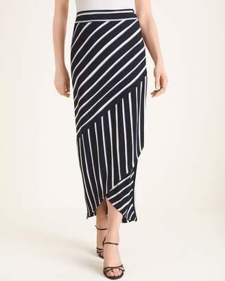 Travelers Classic Striped Maxi Skirt