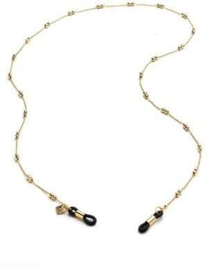 Corinne McCormack Double Ball Eyeglass Chain