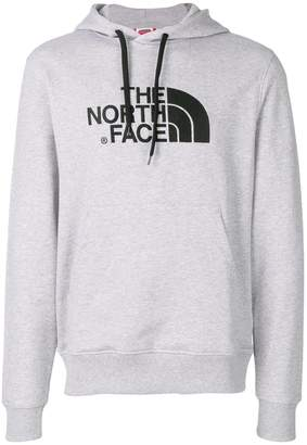 The North Face logo print hoodie
