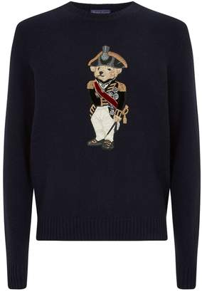 Ralph Lauren Purple Label Polo Bear Sweater