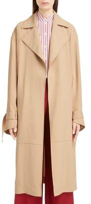 Victoria Beckham Split Sleeve Trench Coat