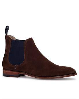 Oliver Sweeney Suede Leather Sole Chelsea Boot