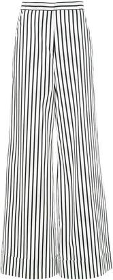 Self-Portrait striped palazzo trousers