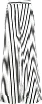 Self-Portrait striped palazzo trousers