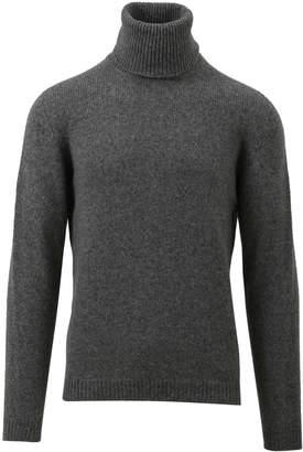 Roberto Collina Grey Turtleneck Sweater