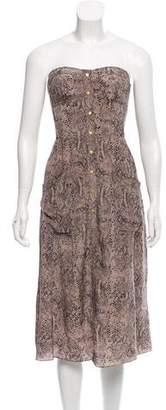 Rebecca Taylor Silk Knee-Length Dress