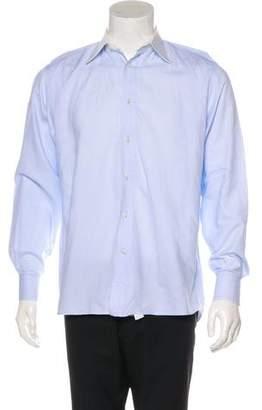 Valentino Contrast Woven Shirt
