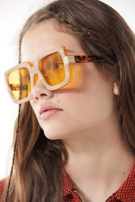 CLYDE Bonnie Mancuso Square Sunglasses