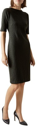HOBBS LONDON Joan Jacquard Dress $185 thestylecure.com