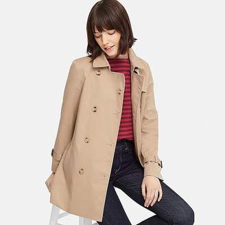 Uniqlo Women's Short Trench Coat (online Exclusive)