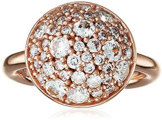 Hot Diamonds Emozioni by Rose Gold Bouquet Ring - Size N