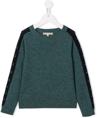 Bonpoint two-tone jumper