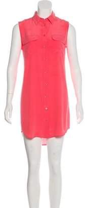 Equipment Mini Silk Dress