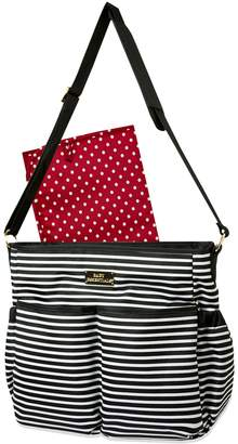 Baby Essentials Striped Stroller Diaper Bag