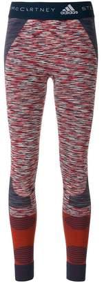 adidas by Stella McCartney printed Yoga comfort tights