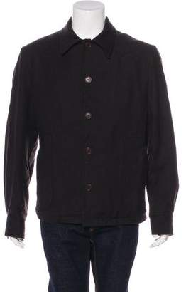 CNC Costume National Wool Button-Up Jacket