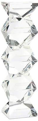 John-Richard Collection Ridan Crystal Candleholder - Clear