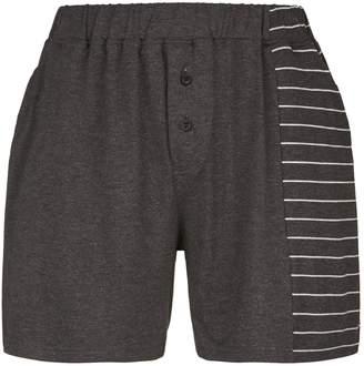 Homebody Striped Lounge Shorts