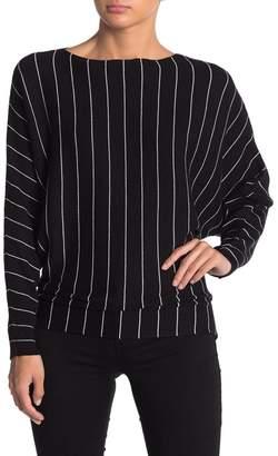 Philosophy di Lorenzo Serafini Striped Dolman Batwing Sleeve Sweater