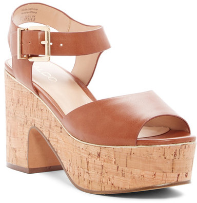 Aldo Celely Platform Ankle Strap Sandal