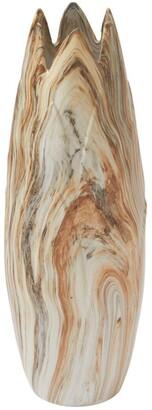 Uma Enterprises Dark Marble Vase