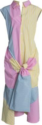 Marni Multi Stripe Asymmetrical Dress