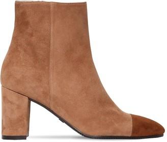 Stuart Weitzman 60mm Jill Suede Ankle Boots