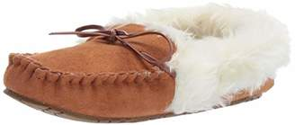 Rampage Women Cersie Faux Fur Lined Moccasin Slipper