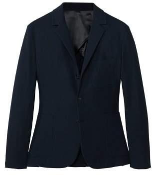 MANGO Slim-fit textured blazer