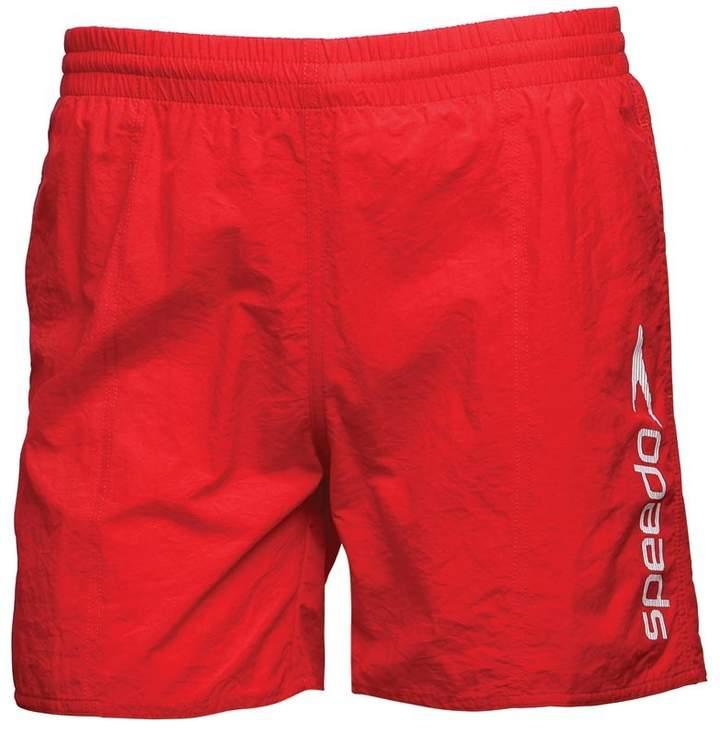 Junior Challenge 15 Inch Water Shorts Red/White