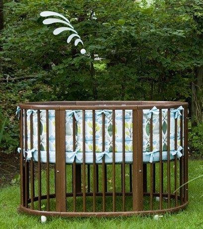 Dwellstudio Oval Crib Bedding