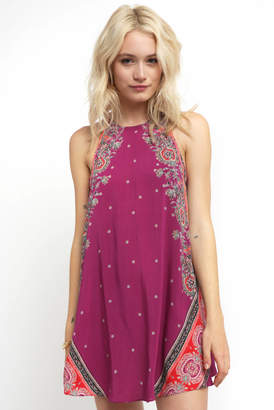 Free People Darjeeling Printed Slip Dress