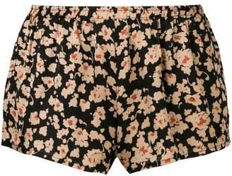 Love Stories floral print shorts